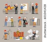 industrial professional... | Shutterstock .eps vector #601041428