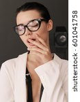 fashion interior photo of...   Shutterstock . vector #601041758