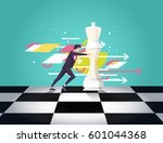 business concept strategy....   Shutterstock .eps vector #601044368