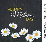 mother's day background with... | Shutterstock .eps vector #601057124