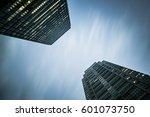 skyscrapers in tokyo  japan.... | Shutterstock . vector #601073750