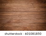 vintage colorful wood... | Shutterstock . vector #601081850