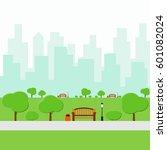park | Shutterstock .eps vector #601082024