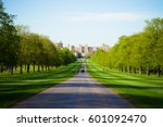 windsor castle  london england... | Shutterstock . vector #601092470