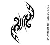 tattoo tribal vector designs... | Shutterstock .eps vector #601104713