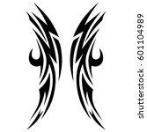 tattoos ideas designs   tribal... | Shutterstock .eps vector #601104989