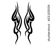 vector tribal tattoo designs.... | Shutterstock .eps vector #601105034