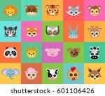 animal carnival set of animal... | Shutterstock .eps vector #601106426