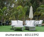 hotels patio .a summer view of... | Shutterstock . vector #60111592