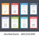 set of infographic elements... | Shutterstock .eps vector #601141340