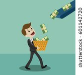 finance and money  business has ... | Shutterstock .eps vector #601142720