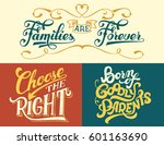 families are forever  born of... | Shutterstock .eps vector #601163690