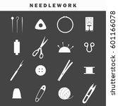 set of equipment icons for... | Shutterstock .eps vector #601166078