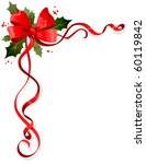 christmas decoration with space ... | Shutterstock .eps vector #60119842