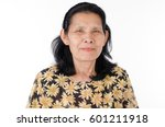 senior woman with headache...   Shutterstock . vector #601211918