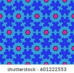 ornamental flower design.... | Shutterstock .eps vector #601222553