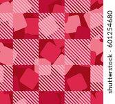 seamless pattern. fashionable... | Shutterstock .eps vector #601254680