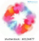 vector colorful abstract...   Shutterstock .eps vector #60126877