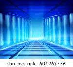 virtual space. vector... | Shutterstock .eps vector #601269776