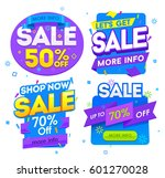 sale banner  badges  design... | Shutterstock .eps vector #601270028