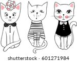 vector series with cute fashion ...   Shutterstock .eps vector #601271984