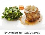 low temperature cooked fillet...   Shutterstock . vector #601293983