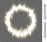 abstract burning circle design... | Shutterstock .eps vector #601294748