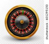 realistic casino gambling... | Shutterstock .eps vector #601295150