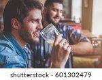 group of hipster friends... | Shutterstock . vector #601302479