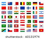 mix flags | Shutterstock . vector #60131974