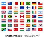 mix flags | Shutterstock . vector #60131974