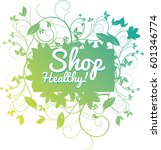 vector illustration of a a shop ... | Shutterstock .eps vector #601346774