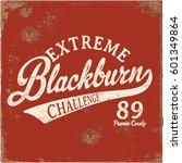 extreme blackburn   Shutterstock . vector #601349864