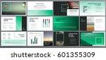 original presentation templates ... | Shutterstock .eps vector #601355309