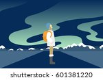 Vector Illustration Of Young...