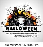 Spooky Halloween Composition