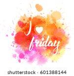 watercolor imitation splash... | Shutterstock .eps vector #601388144