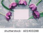 Bright Beautiful Tulips Bunch...