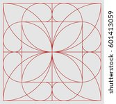 golden ratio pattern | Shutterstock .eps vector #601413059