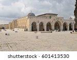 al aqsa mosque  temple mount ...   Shutterstock . vector #601413530