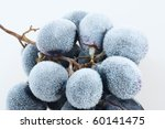 grapes frozen. isolation on the ... | Shutterstock . vector #60141475
