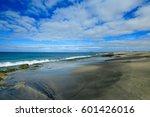 beach santa maria   sal island  ... | Shutterstock . vector #601426016