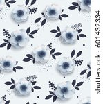 elegant seamless pattern with... | Shutterstock .eps vector #601432334