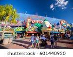 orlando. usa. florida   march   ... | Shutterstock . vector #601440920