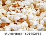 popcorn texture. popcorn snacks ...   Shutterstock . vector #601462958