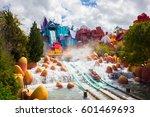 orlando. usa. florida   march... | Shutterstock . vector #601469693