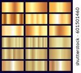 vector shiny gold foil luxury...   Shutterstock .eps vector #601501460