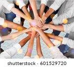 hand. | Shutterstock . vector #601529720