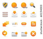 Internet Icons | Yellow07 Professional icons for your website, application, or presentation - stock vector