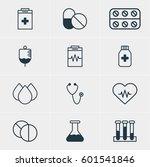 vector illustration of 12... | Shutterstock .eps vector #601541846